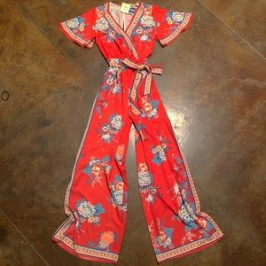 Flying Tomato Printed Floral Boho Jumpsuit